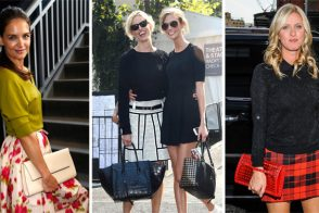The Many Bags of Celebs at New York Fashion Week Spring 2014