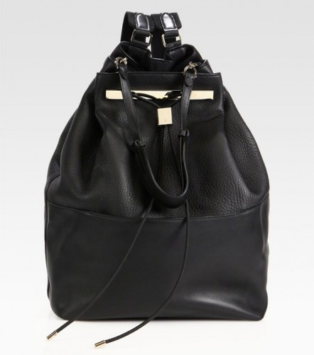 The Row Convertible Hobo Backpack