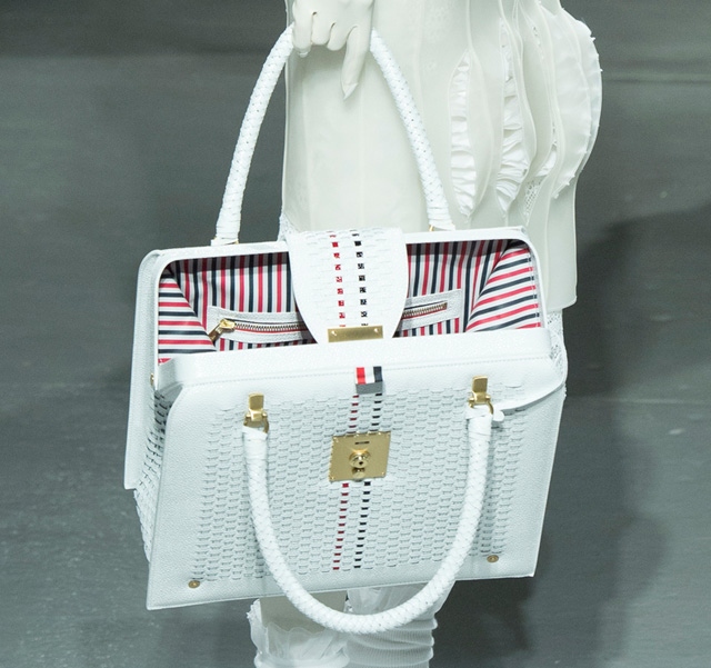 Thom Browne Spring 2014 Handbag