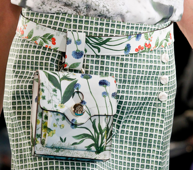 20 Ways To Spiff Up Your Backyard For Spring: Tory Burch's Spring 2014 Bags Take Us Back To The Garden