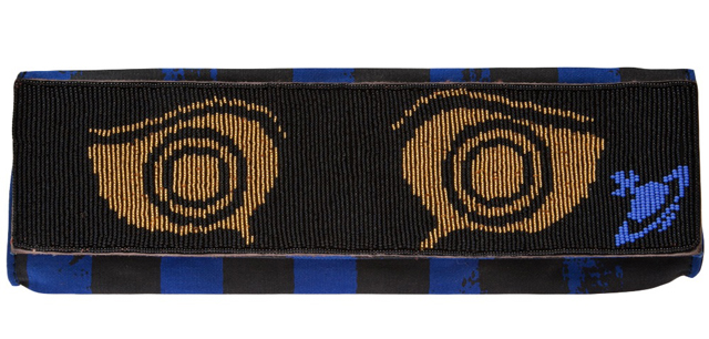 Vivienne Westwood Anglomania Greek Eye Clutch
