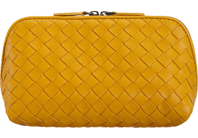 Bottega Veneta Medium Intrecciato Cosmetic Bag