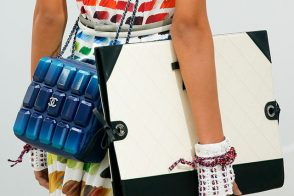Chanel's Spring 2014 Handbags Have Taken a Detour to Art School