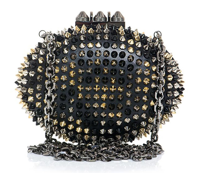 Christian Louboutin Mina Spike Clutch
