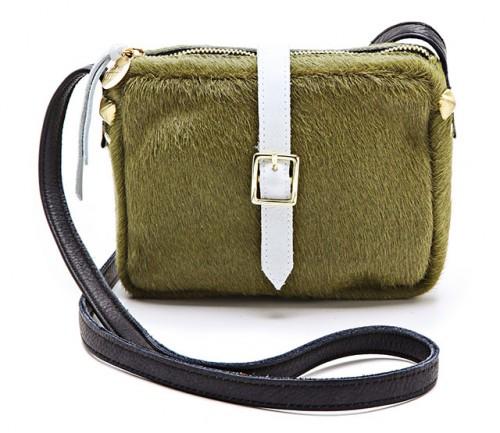 Clare Vivier Mini Haircalf Bag