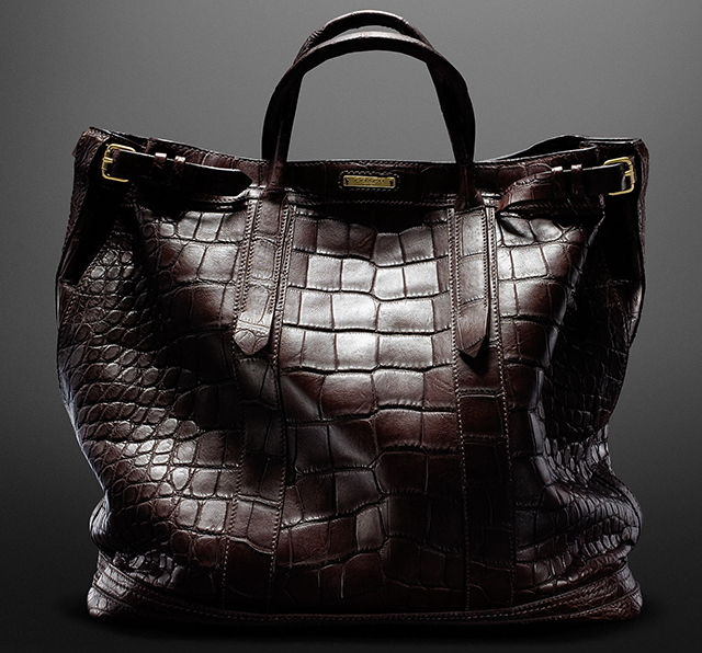 Coach + Billy Reid Alligator Warrior Tote