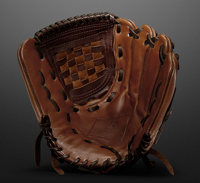 Coach + Billy Reid Baseball Glove