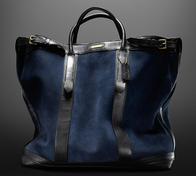 Coach + Billy Reid Suede Warrior Tote