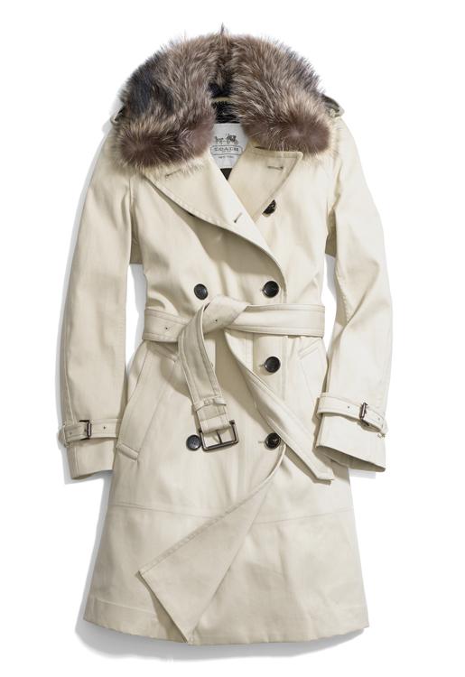 Coach Winter Classic Long Trench Coat