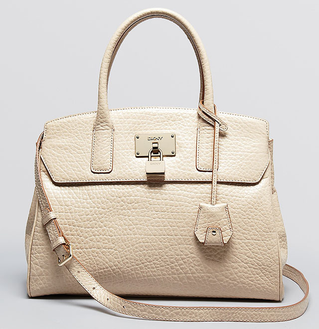 DKNY Beekman French Grain Satchel