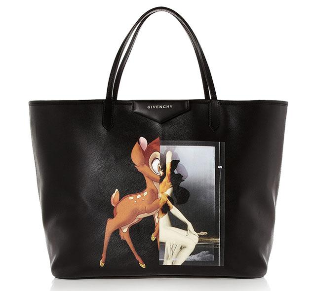 Givenchy Antigona Bambi Deer Tote