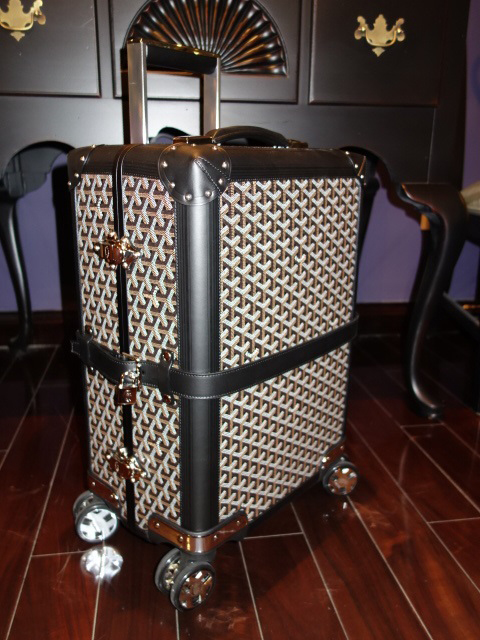 Goyard Trunk Full View