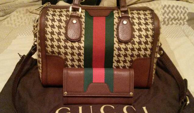 Gucci Houndstooth Bag
