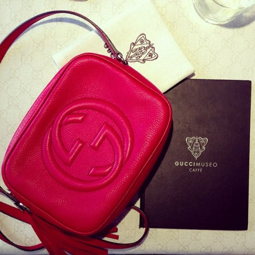 Gucci Red Purse