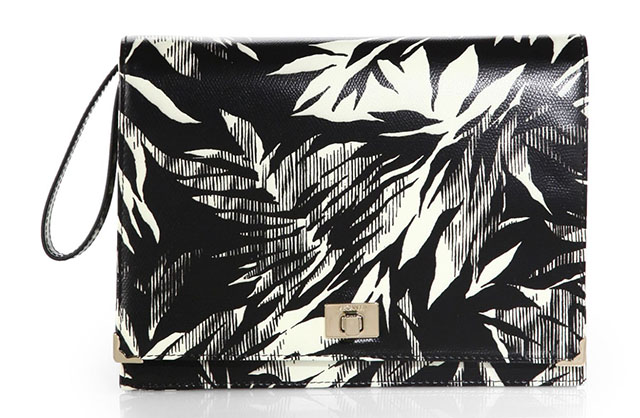 Jason Wu Jourdan Leather Clutch