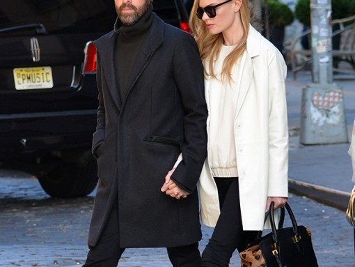 d1a288cb4428 Kate Bosworth carries a heart-print Burberry bag in NYC (5)
