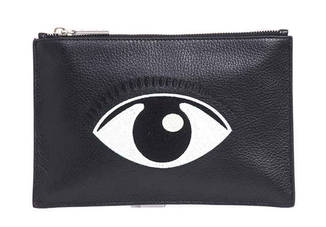 Kenzo Embroidered Eye Pouch