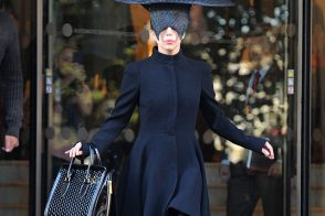 Lady Gaga's Alexander McQueen Bag is the Least Insane Thing About Her Outfit