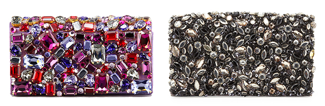 Look for Less Prada Alice and Olivia Jeweled Clutches