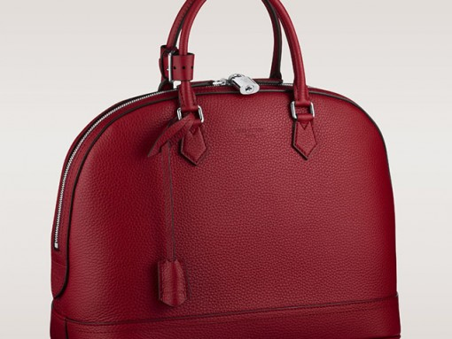 The Louis Vuitton Alma Gets a Makeover in Gorgeous Leather
