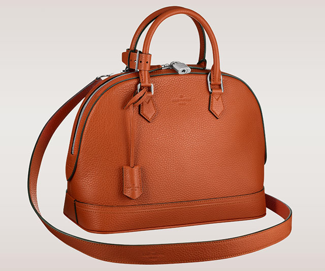Louis Vuitton Alma PM Taurillon Clementine