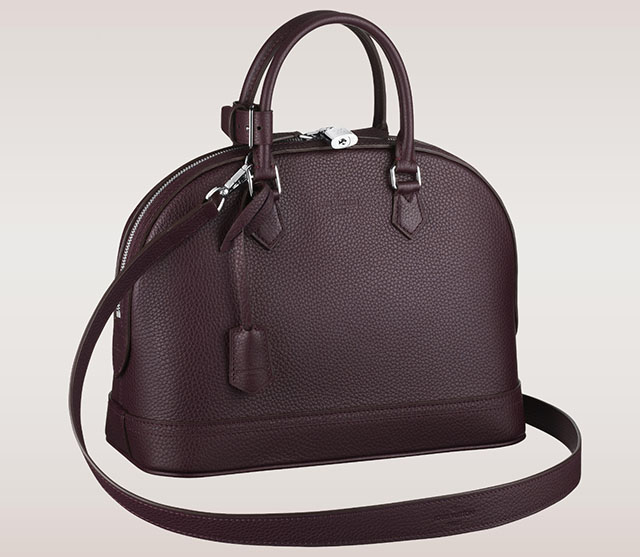 Louis Vuitton Alma PM Taurillon Quetsche