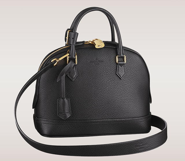 Louis Vuitton Alma PPM Taurillon Black