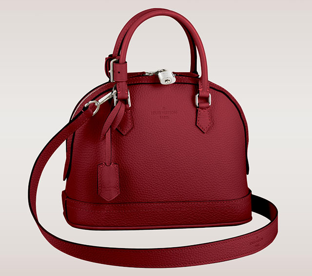 Louis Vuitton Alma PPM Taurillon Cherry