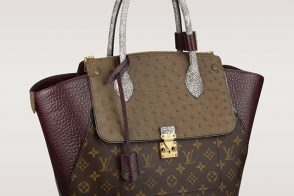 Louis Vuitton Updates Its Monogram Bags with Exotic Trim