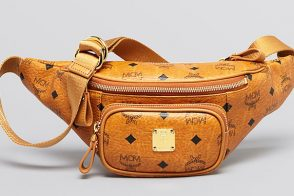 Man Bag Monday: MCM Logo Waist Bag