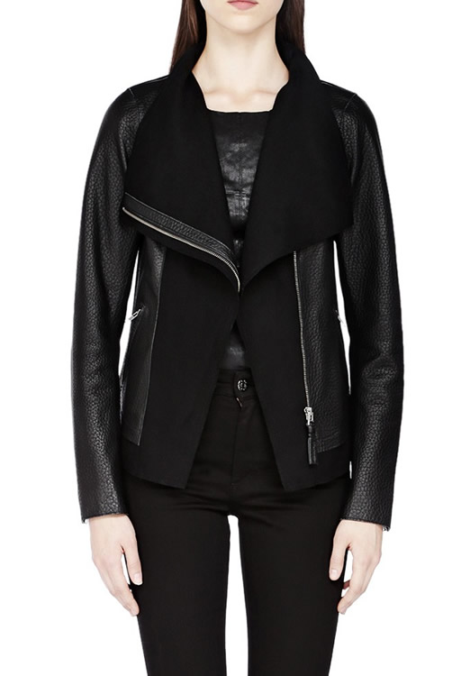 Mackage Armada Black Leather Jacket