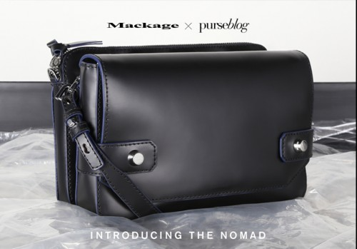 Mackage x PurseBlog Nomad