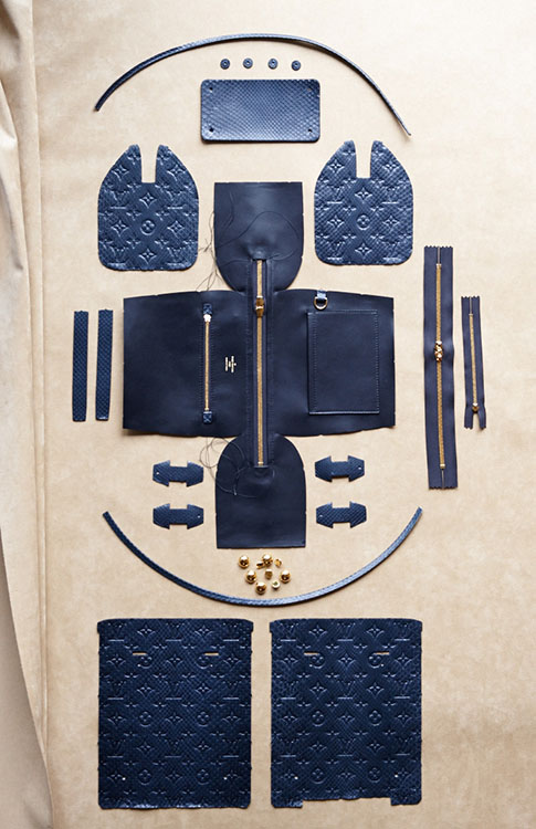 The Making of a Louis Vuitton Speedy Bag by CR Fashion Book (3)