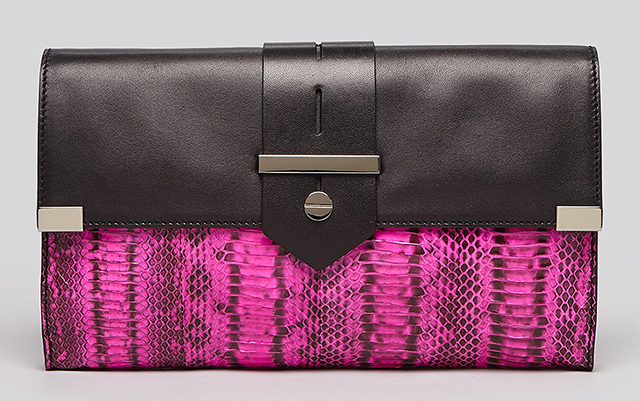 Milly Makenna Watersnake Clutch
