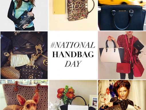 #NationalHandbagDay Instagram Roundup Part Two – October 10