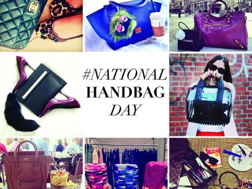 #NationalHandbagDay Instagram Roundup Part One – October 9th