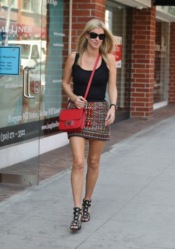 Nicky Hilton carries an Hermes Constance Bag in LA (2)
