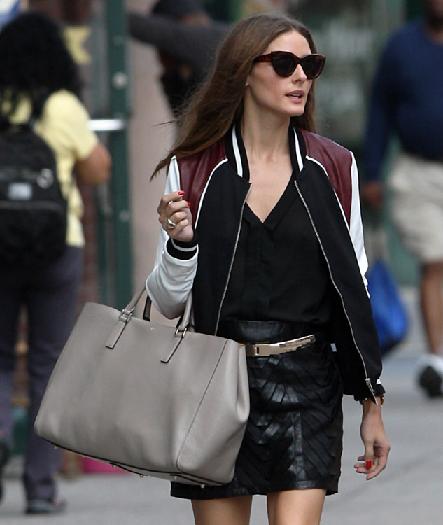 Olivia Palermo carries an Anya Hindmarch Ebury Tote (4)
