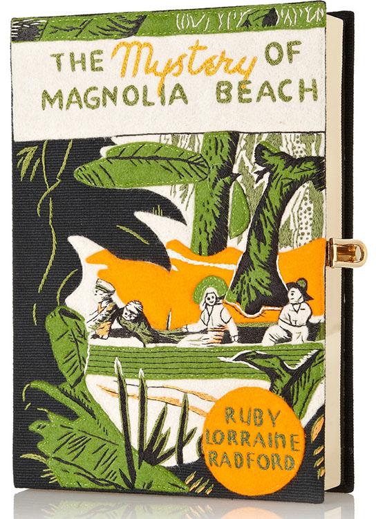 Olympia Le-Tan Mystery of Magnolia Beach Clutch