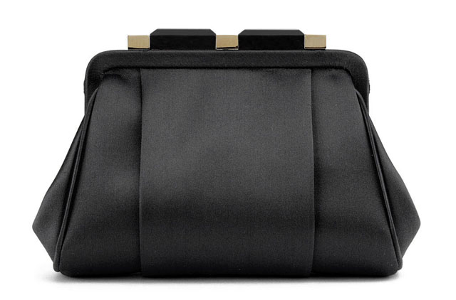 Oscar de la Renta Mini Marilia Bag, Black