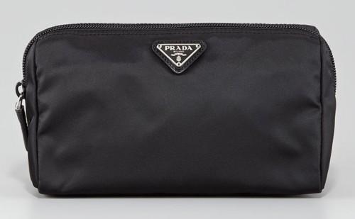 Prada Vela Nero Cosmetic Bag