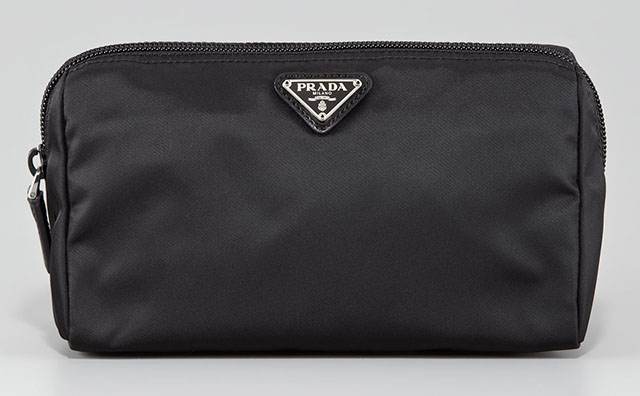 Prada Vela Nero Cosmetic Bag