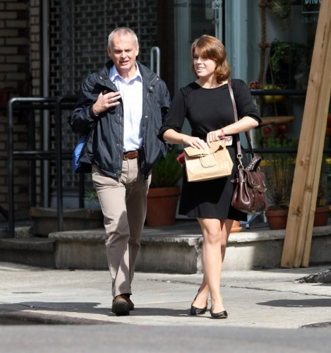 Princess Eugenie carries a Mulberry Alexa Bag in NYC (1)