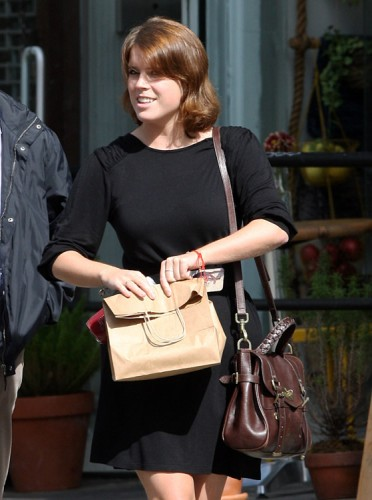 Princess Eugenie carries a Mulberry Alexa Bag in NYC (4)
