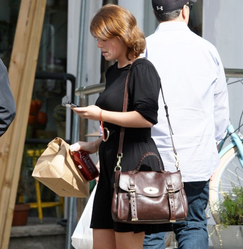 Princess Eugenie carries a Mulberry Alexa Bag in NYC (3)