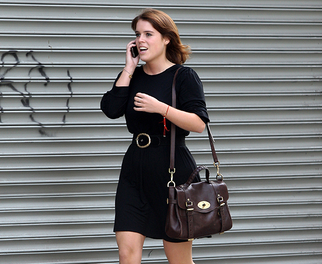 Princess Eugenie carries a Mulberry Alexa Bag in NYC (5)