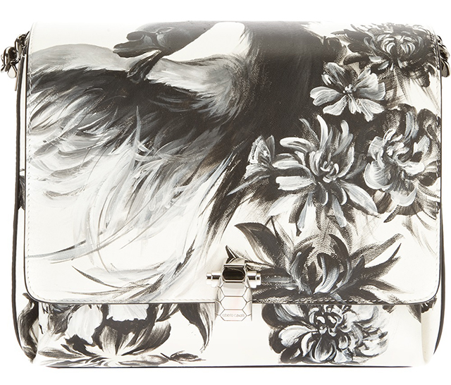 Roberto Cavalli Floral Shoulder Bag