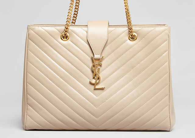 a446e8131cb5 Saint Laurent Takes It Back to the 80s for Fall - PurseBlog