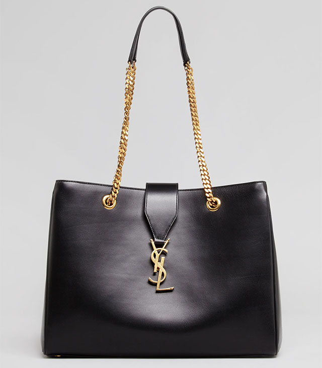 Saint Laurent Cassandre Chain-Strap Shopper Bag