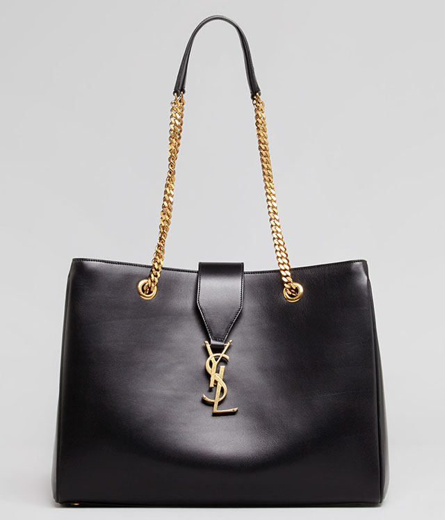 Saint Laurent Cassandre Chain Strap Shopper